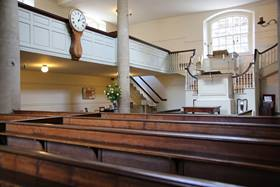 The New Room was one of John Wesley's main bases for the early Methodist movement. Photo by Kathleen Barry, United Methodist Communications.