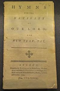 """Charles Wesley's """"Come, Thou Long-Expected Jesus"""" was included in a collection of Christmas hymns. Photo of 1793 edition at Wesley's Chapel, London, by Joe Iovino, United Methodist Communications."""