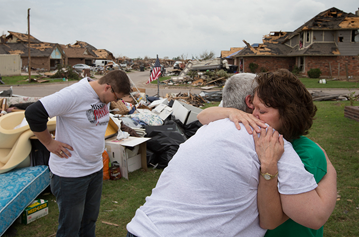 After a tornado, United Methodists are there to help.