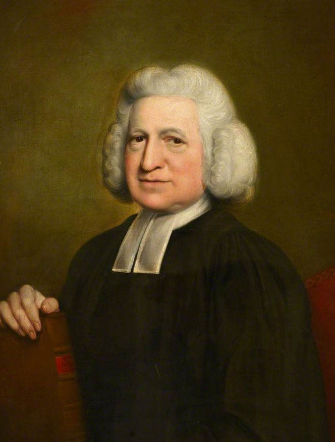 United Methodist hymn writer Charles Wesley shared the gospel in lyrics. Public domain image via Wikipedia.