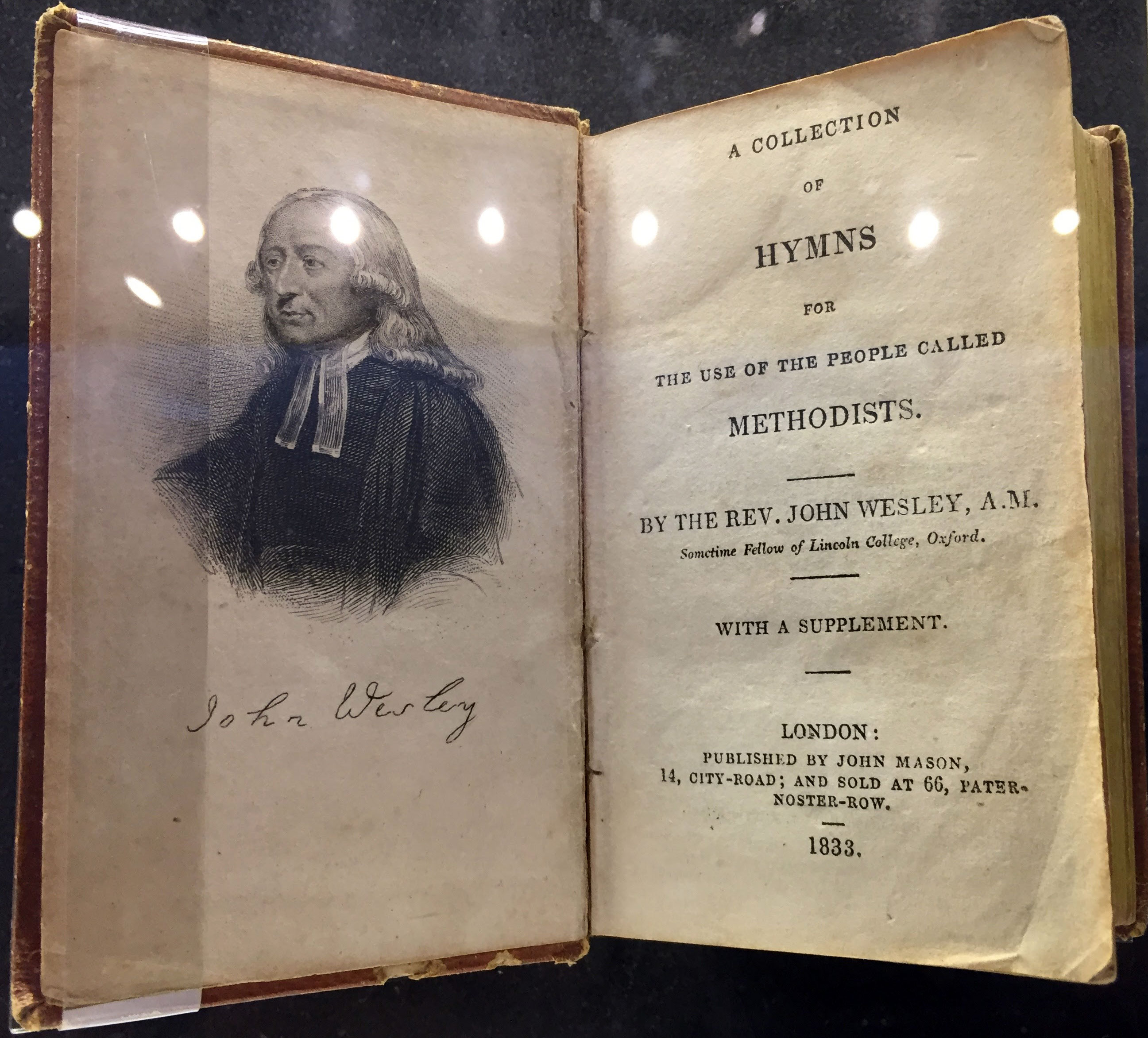 The hymns of Charles Wesley are an important part of our heritage. Photo by Joe Iovino, United Methodist Communications.