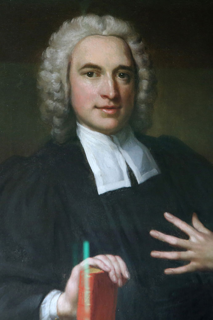 Charles Wesley was the hymn writer of the early Methodist movement. Photo by Kathleen Barry, United Methodist Communications.