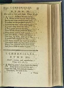 We often sing about grace through the words of John Newton. Photo is hosted at the U.S. Library of Congress, Public domain, via Wikimedia Commons.