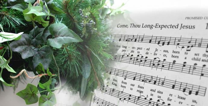 Come, Thou Long-Expected Jesus is a hymn for Advent written by Charles Wesley. Image by Kathryn Price, United Methodist Communications.