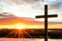 Sun rises on Easter morning. Photo by Austin Bond Photography.