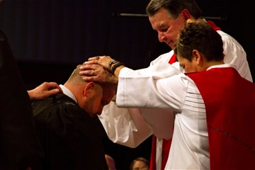 What does The United Methodist Church teach about ordination? Learn more about the steps and blessings to become a deacon or elder.