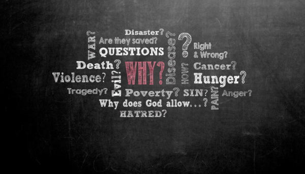 Pastors often are leaned upon to try to answer life's most difficult questions. Illustration by Cindy Caldwell, UMC.org.