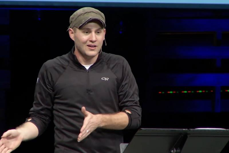 Seth Martin passionately equips parents for the role of discipling their teenage children. Photo courtesy of Seth Martin.