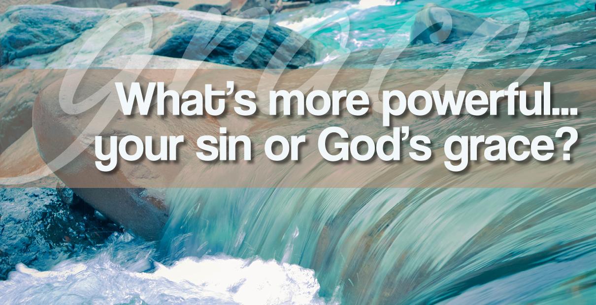La gracia de Dios arraiga el pecado en nuestras vidas. Ilustración de Troy Dossett, Comunicaciones Metodistas Unidas
