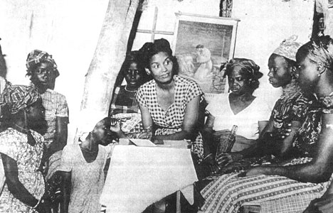 Missionary Vivienne Gray served with her husband, Ulysses, in Liberia, 1948 to 1988. Photo courtesy of New World Outlook.