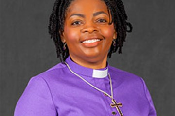 Growing up in the church, there were some indications she might be a bishop one day. Photo courtesy of the Western PA Conference of the United Methodist Church.