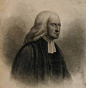 Engraving of John Wesley