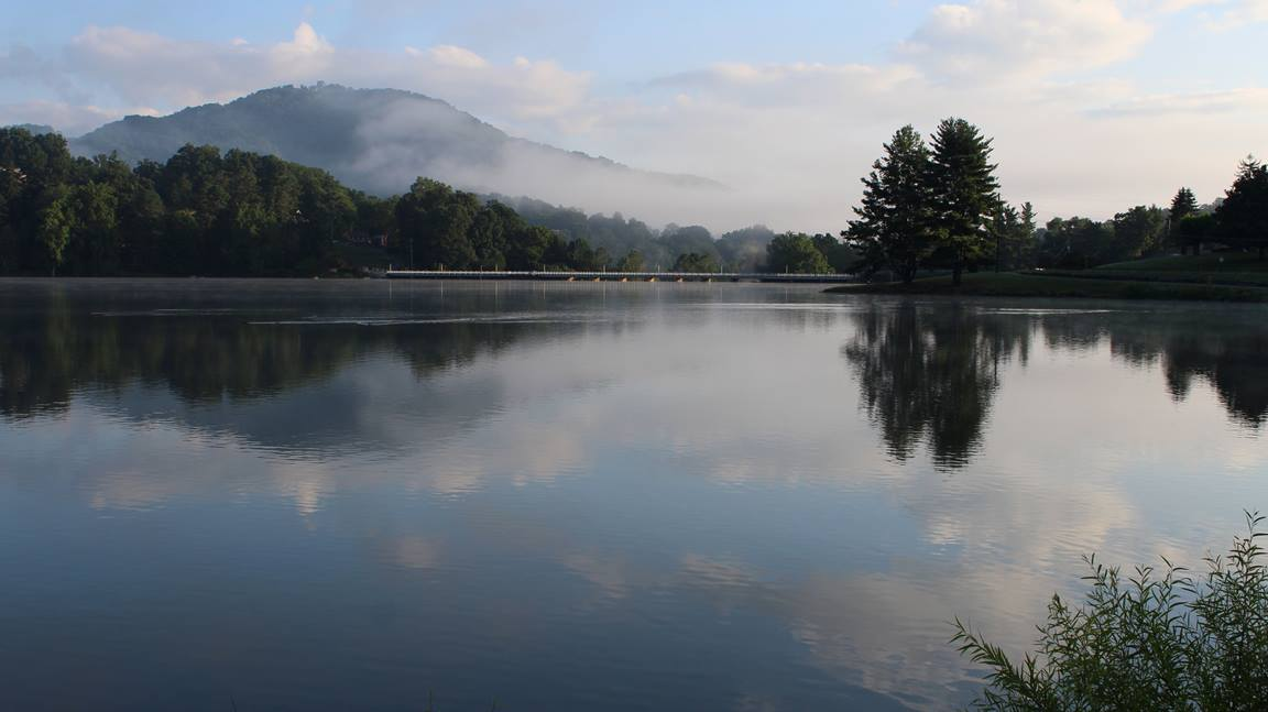 A nature scene from Lake Junaluska taken in August 2013. Photo by Kay Panovec, United Methodist Communications.