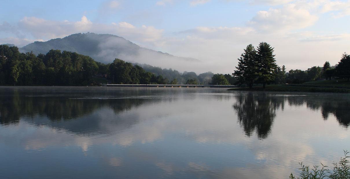 A nature scene from Lake Junaluska in North Carolina. Photo by Kay Panovec, United Methodist Communications.