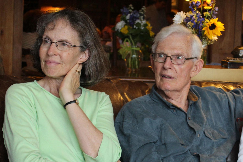 The Rev. Mary Beth Blinn (l) has a lifelong mentor in her dad, the Rev. Charles G. Turkington (r). Photo courtesy of the Rev. Mary Beth Blinn.
