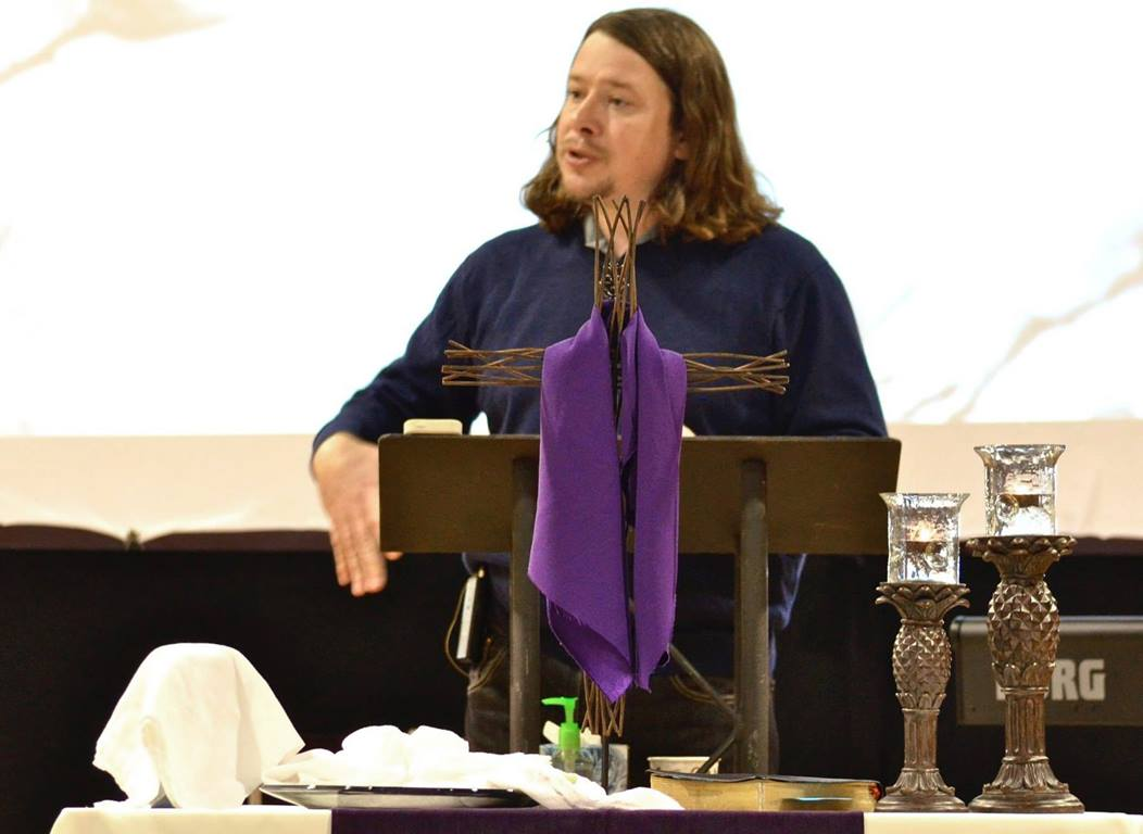 The Rev. Allen Buck, a member of the Cherokee Nation of Oklahoma, relocated to Portland, Ore., to become the pastor of Wilshire United Methodist Native American Fellowship in July of 2017. Since then, attendance has doubled. Photo courtesy of Wilshire United Methodist Native American Fellowship.