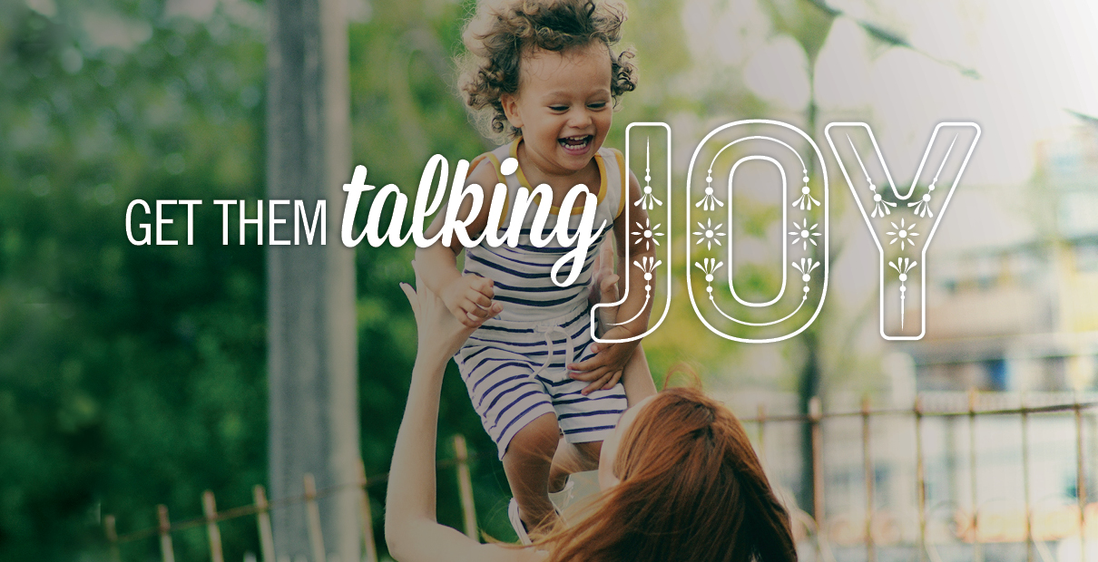 United Methodist resources help families talk about the joy of the Lord. Image by Sara Schork, United Methodist Communications.