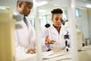 Africa University Fund Apportionment Students in Lab