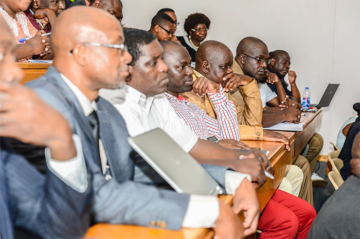 Participants at the Africa University's Business Academy Solid Waste Management Conference hosted in conjunction with the Environmental Management Agency (EMA).