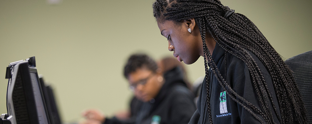 2014 training for Black College Fund Lina McCord Interns at United Methodist Communications in Nashville, Tenn.