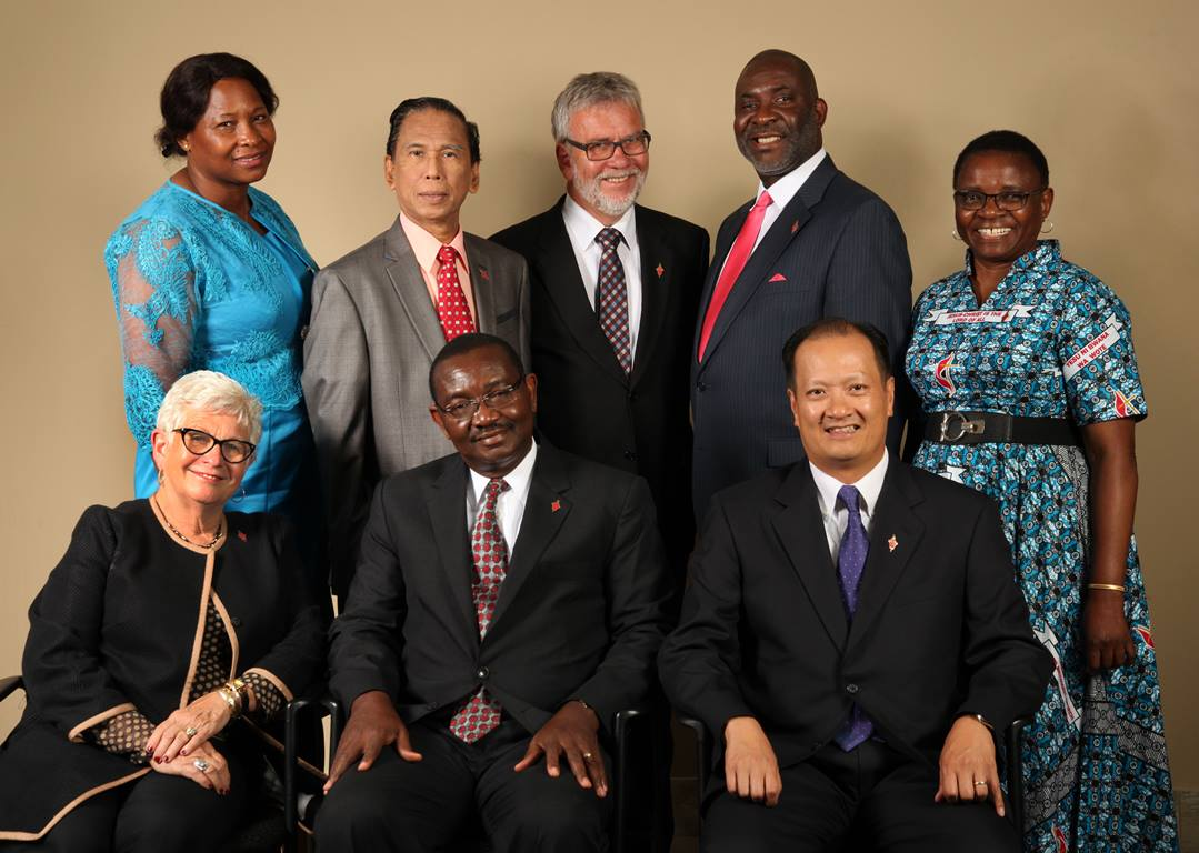 Pictured: 2016-2020 Judicial Council. (Not pictured: Beth Capen) Photo by Kathleen Barry, United Methodist Communications.