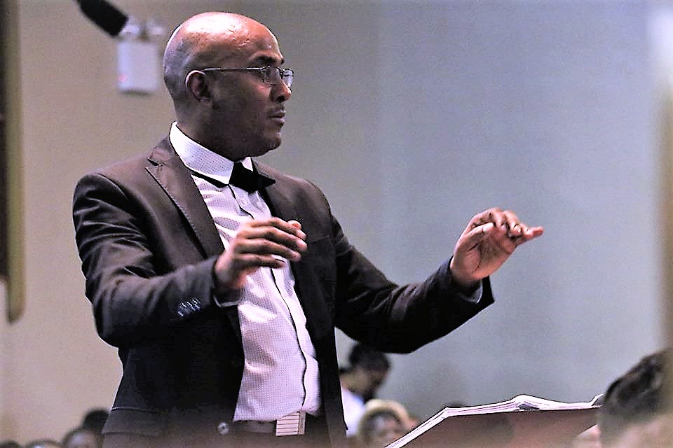 Raymond Trapp has been selected Worship and Music Director for the 2019 special session of the General Conference. Photo courtesy of  Raymond Trapp.