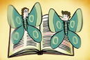 """""""Bible moths"""" illustration from the """"Wesleys Take the Web v ideo series about John and Charles Wesley."""