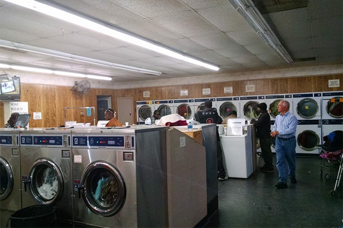 """Greers Chapel United Methodist Church in Magnolia has gained a reputation of being """"the church that does your laundry."""""""
