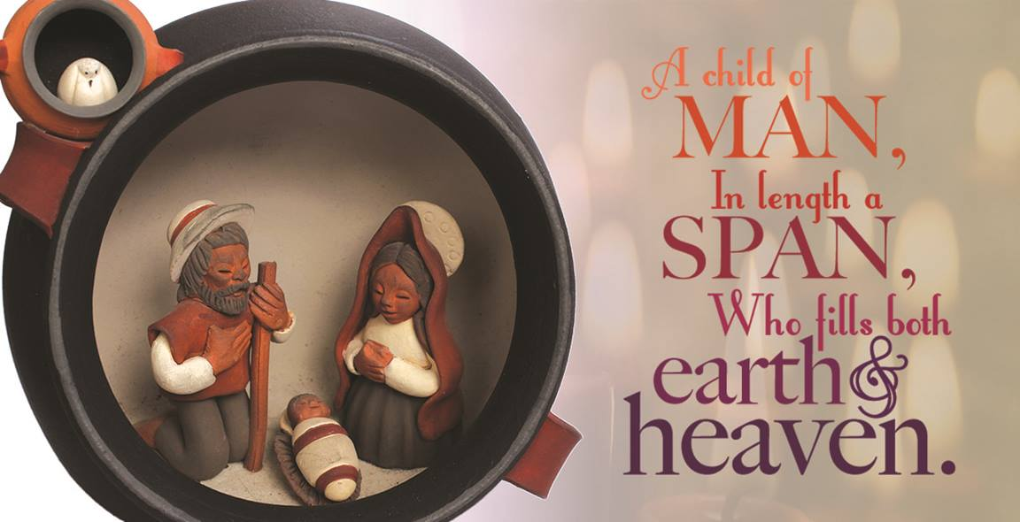 In beautiful poetry, Charles Wesley describes how Jesus was fully God and fully human. Image by Kathryn Price, United Methodist Communications.