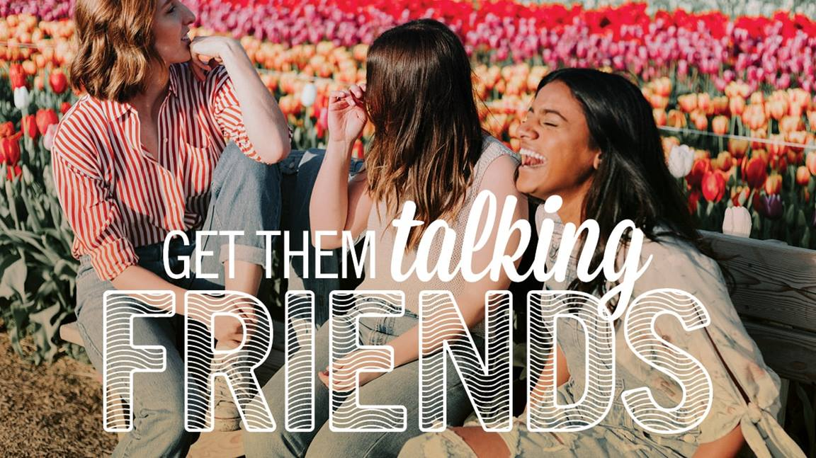 The Bible teaches us how friends strengthen us. Image by Sara Schork, United Methodist Communications.