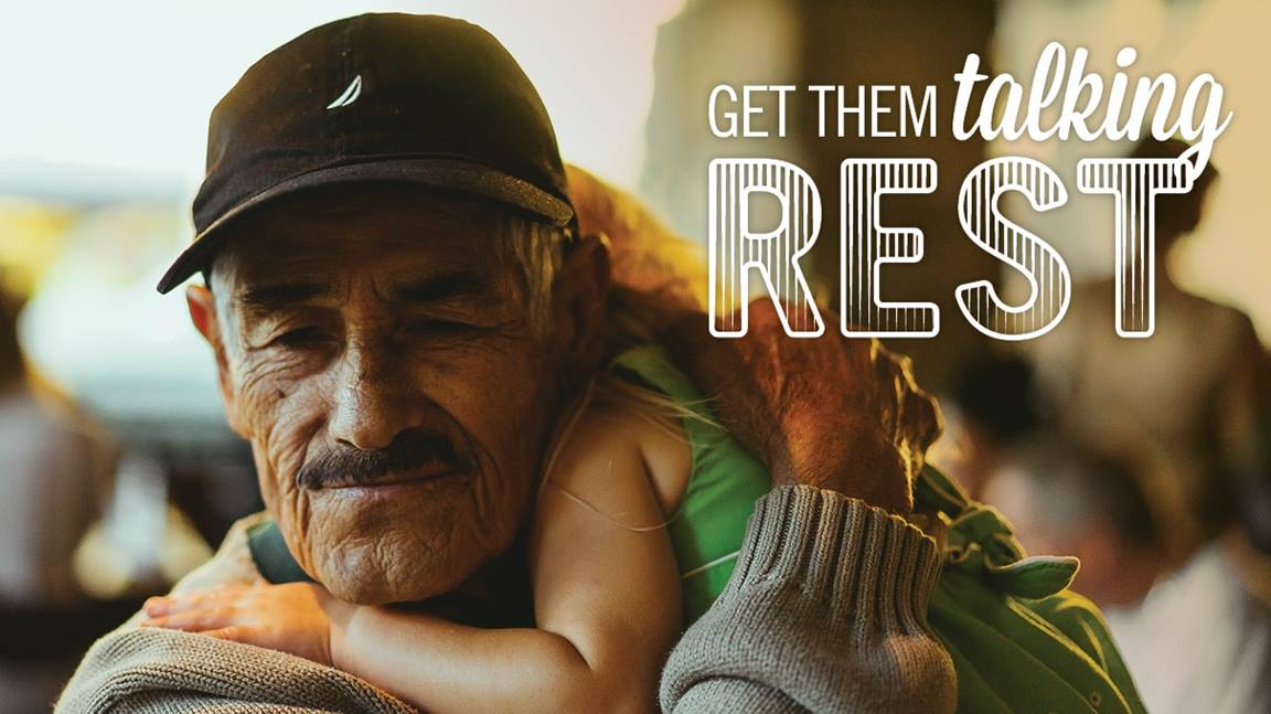United Methodist resource helps families talk about our need for rest. Image by Sara Schork, United Methodist Communications.