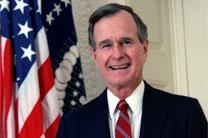 Former President George H.W. Bush.