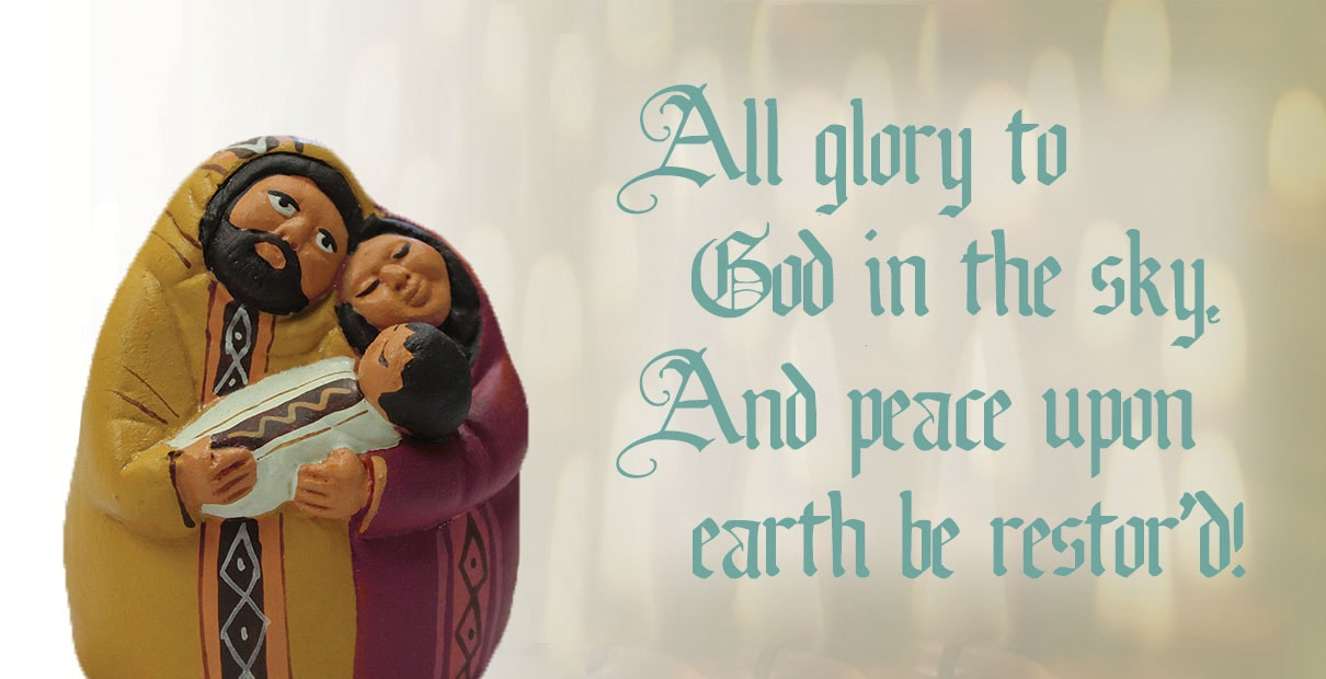 Charles Wesley teaches us about the peace of Christmas in one of his hymns. Image by Kathryn Price, United Methodist Communications.