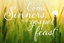 """Charles Wesley's """"Come, Sinners, to the Gospel Feast"""" invites everyone to new life in Christ, to communion, and to welcome others. Image by Kathryn Price, United Methodist Communications."""