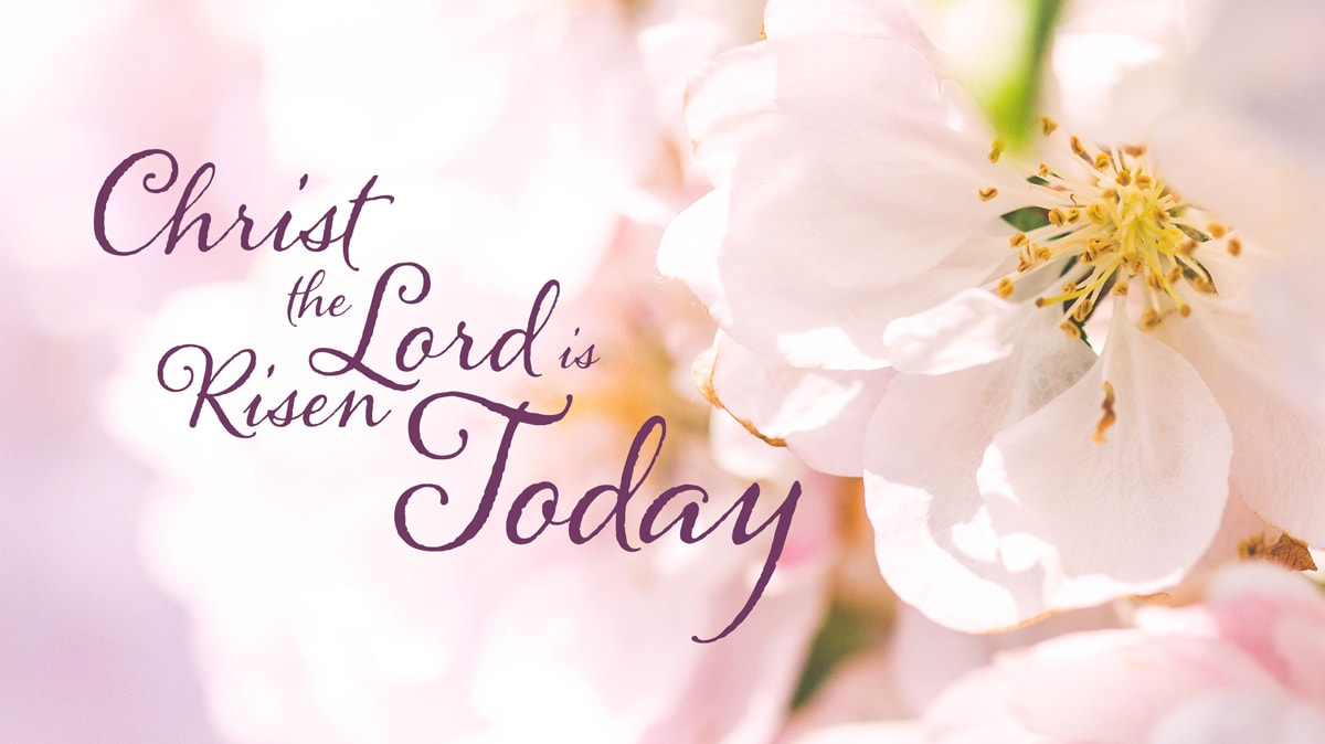 """United Methodist founder Charles Wesley's Easter hymn """"Christ the Lord Is Risen Today"""" is a celebration of resurrection and new life. Image by Kathryn Price, United Methodist Communications."""