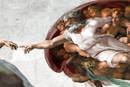 "Detail from ""The Creation of Adam"" by Michelangelo, the Sistine Chapel. Photo courtesy of Wikimedia Commons."