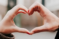 Get your family talking about love with this discussion starter. Caring for others is a way of showing them how much God loves us. Image by Sara Schork, United Methodist Communications.