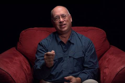 "The Rev. Mike Sluder appears in our Reflections on Our Faith"" video series. Still from video by United Methodist Communications."