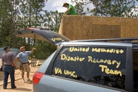 United Methodist are always ready to use their talents and resources to help those in need. File photo by Mike DuBose, United Methodist Communications.