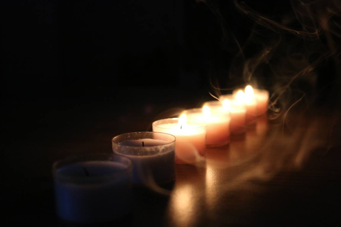 Tenebrae, an ancient Good Friday service, increases darkness by gradually extinguishing candles to symbolize the coming darkness of Jesus' death. Photo courtesy of Pixabay.