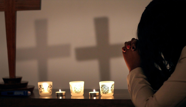 Prayer Cross Candles