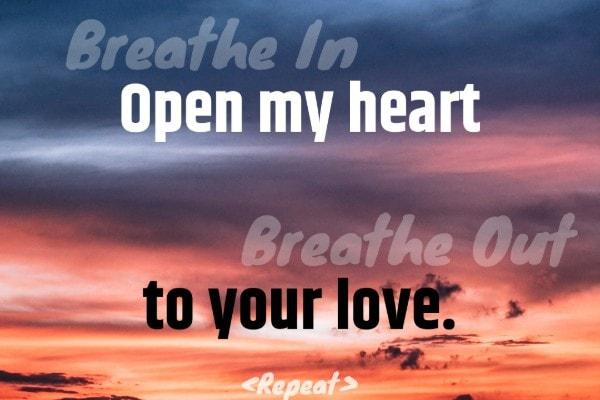 Breath Prayer Open Heart