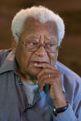 In 1968, civil rights leader the Rev. James Lawson was Clara Ester's pastor. File photo by Mike DuBose, United Methodist Communications.