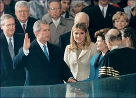 George W. Bush became the 43rd President of the United States in January 2001. Photo courtesy of White House Photo.