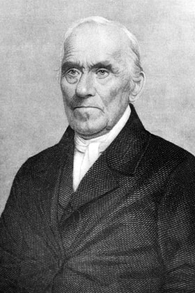 Henry Boehm was an influential Methodist who traveled with Francis Asbury. Photo courtesy United Methodist Archives and History.