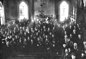 In February 1917, the first congress of people of Sámi origin (indigenous people of northern Norway, Sweden, Finland and Russia), gathered in Trondheim Methodist Church. A smaller church existed on the same site as the current church building. Photo courtesy of Trondheim Methodist Church.