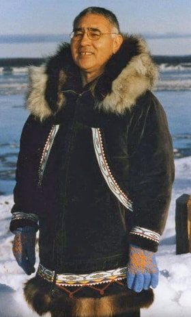 """Pastor Charles Brower teaches a word for forgiveness from the Inupiat dialect that means, """"having nothing to do with it anymore."""" Video image from United Methodist Communications."""