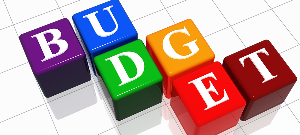Image of the word Budget in colorful blocks. Courtesy photo.
