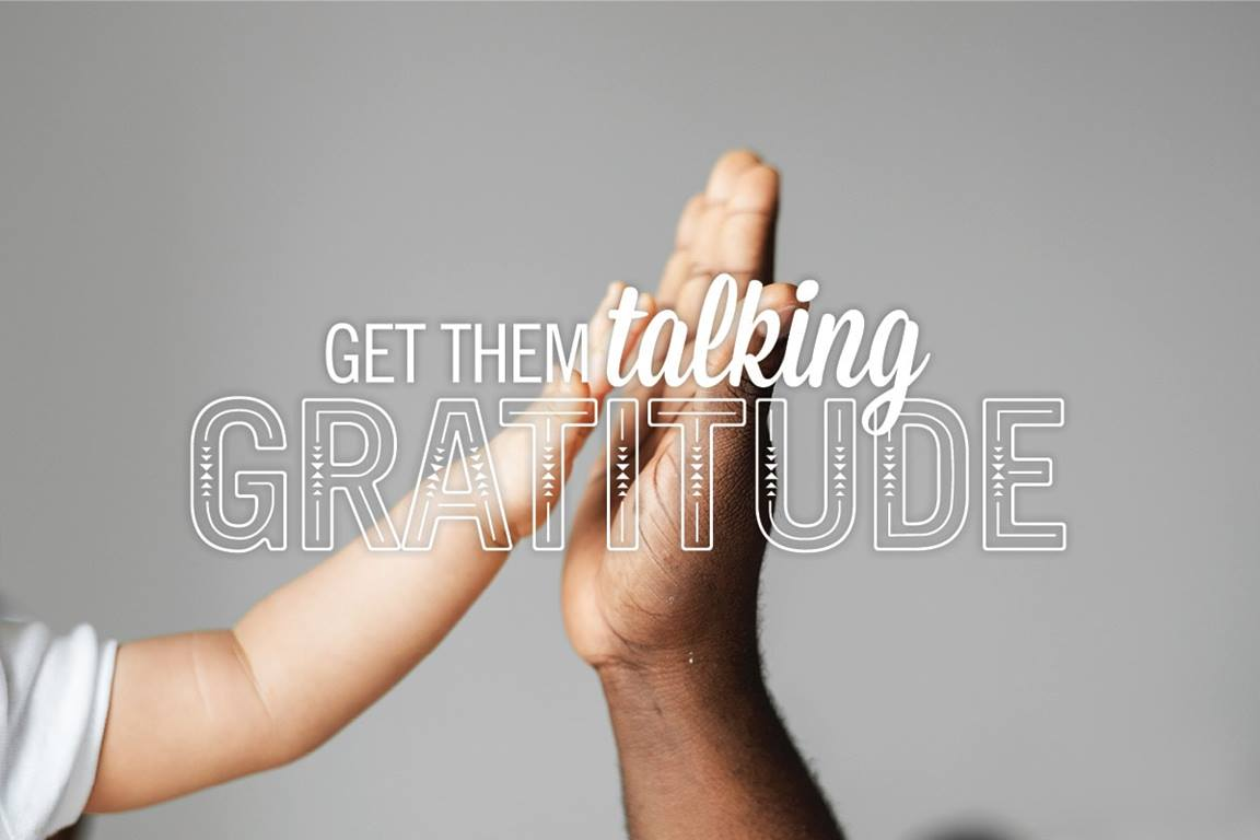 There are many ways to express thanksgiving. Scripture, prayer and questions will help get your family talking about an attitude of gratitude. Image by Sara Schork, United Methodist Communications.