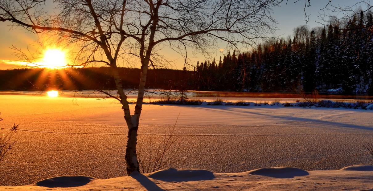 Image of sunrise. Photo courtesy of Creative Commons.